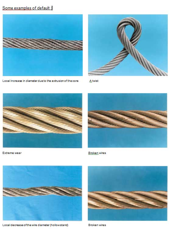 wire ropes examples