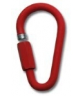 Ø12 mm (0,47 in) galvanized steel red ec quick lin (maillon rapide)
