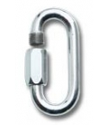 Ø10 mm (0,39 in) galvanized steel ec quick link (maillon rapide)