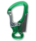 K-advance double safety karabiner green