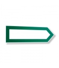 Pvc direction arrow