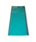 Green plastic covering for long foam tubes 1000 x 425 mm (39,37 x 16,73 in)