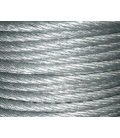Ø12mm Lang's lay galvanized wire rope 6x7 FC 250m reel