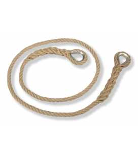 Ø16 mm (0,63 in) thimbled polypopylene rope length 2,20 m (7,22 ft)