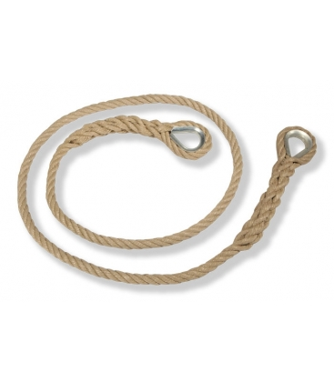 Ø16mm THIMBLED POLYPROPYLENE ROPE Length: 2,20m