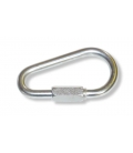 Ø9 mm (0,35 in) zinc plated pear-shaped quick link (maillon rapide)