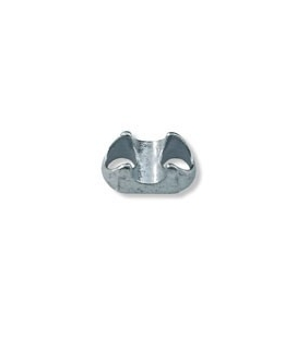 Wire rope clip saddle for Ø12mm (0,47 in)wire rope