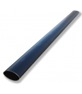 Black thermoplastic tube Ø from 50 to 13 mm ( from 1.97 to 0.51 in)