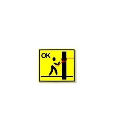 "Safety loop ""ok"" panel"