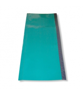 Green plastic covering for long foam tubes 2000 x 425 mm (78,74 x 16,73 in)