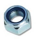 Zinc plated nylon insert bolt nut Ø12 mm (0,47 in)