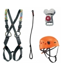 Simba I children PPE kit - Continuous belay system