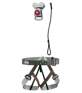 Gym I adult and youth PPE kit - Continuous belay system - Pouliz 2.1
