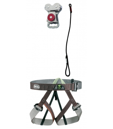 Gym I adult and youth PPE kit - Continuous belay system