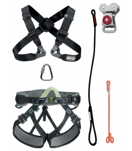 Chest  I  PPE kit for large person - Continuous belay