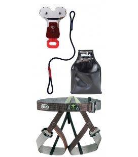 Gym I adult and youth PPE kit - Continuous belay system - Pouliz 3.0
