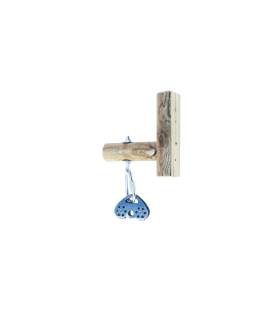 TARZAN SWING TOP WOODEN FIXING BRACKET - WITH MAILLON AND PULLEY