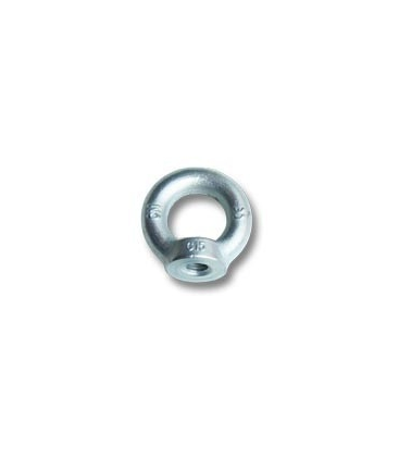 Ø10 mm (0,39 in) zinc plated female lifting eye