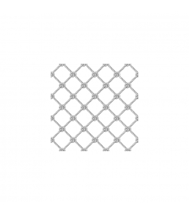 Ø 5 mm (0.2 in) NET - 50 x 50 mm (2 x 2 in) MESH