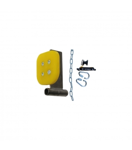 TREE TO TREE ZIP EMERGENCY BRAKE WITH ABSORBER