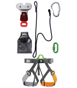 Gym Y adult and youth PPE kit - Continuous belay system - Pouliz 3.0