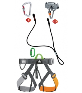 Pandion adult and youth PPE kit - Self belay system