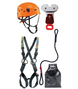 Simba I children PPE kit - Continuous belay system - Pouliz 3.0