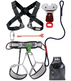Chest  I  PPE kit for large person - Continuous belay Pouliz 3.0