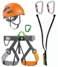 Pandion PPE kit for via ferrata - Helmet size M/L